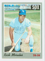 1970 Topps Baseball 91 Rich Morales Chicago White Sox Very Good to Excellent
