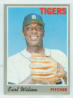 1970 Topps Baseball 95 Earl Wilson Detroit Tigers Near-Mint