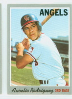 1970 Topps Baseball 228 Aurelio Rodriguez California Angels Near-Mint