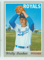 1970 Topps Baseball 266 Wally Bunker Kansas City Royals Near-Mint