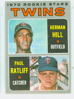 1970 Topps Baseball 267 Twins Rookies Excellent