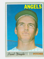 1970 Topps Baseball 277 Paul Doyle California Angels Near-Mint