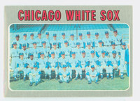 1970 Topps Baseball 501 White Sox Team Very Good to Excellent