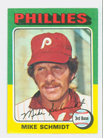 1975 Topps Baseball 70 Mike Schmidt Philadelphia Phillies Excellent to Mint