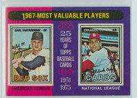 1975 Topps Baseball 205 1967 MVP Excellent to Mint