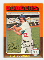 1975 Topps Baseball 244 Bill Buckner Los Angeles Dodgers Excellent to Mint