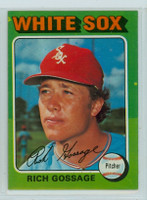 1975 Topps Baseball 554 Rich Gossage Chicago White Sox Excellent