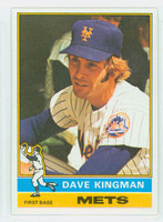 1976 Topps Baseball 40 Dave Kingman New York Mets Excellent to Mint