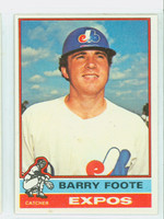 1976 Topps Baseball 42 Barry Foote Montreal Expos Near-Mint