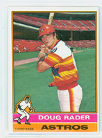 1976 Topps Baseball 44 Doug Rader Houston Astros Excellent