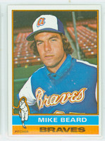 1976 Topps Baseball 53 Mike Beard Atlanta Braves Excellent to Mint