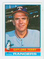1976 Topps Baseball 55 Gaylord Perry Texas Rangers Excellent to Mint