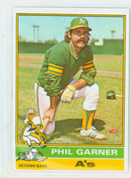 1976 Topps Baseball 57 Phil Garner Oakland Athletics Excellent to Mint