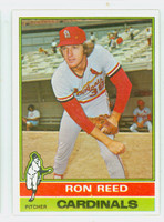 1976 Topps Baseball 58 Ron Reed St. Louis Cardinals Near-Mint Plus