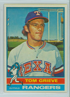 1976 Topps Baseball 106 Tom Grieve Texas Rangers Near-Mint to Mint
