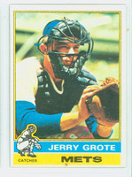 1976 Topps Baseball 143 Jerry Grote New York Mets Excellent to Mint