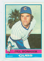 1976 Topps Baseball 151 Bill Bonham Chicago Cubs Excellent to Mint