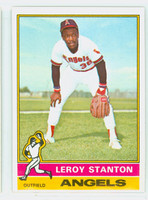 1976 Topps Baseball 152 Leroy Stanton California Angels Excellent to Mint