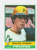 1976 Topps Baseball 161 Bruce Kison Pittsburgh Pirates Excellent to Mint