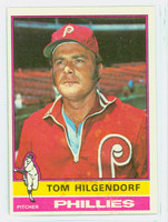 1976 Topps Baseball 168 Tom Hilgendorf Philadelphia Phillies Excellent to Mint