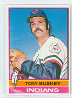 1976 Topps Baseball 178 Tom Buskey Cleveland Indians Excellent to Mint