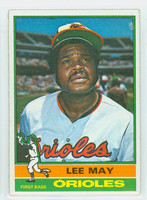 1976 Topps Baseball 210 Lee May Baltimore Orioles Excellent
