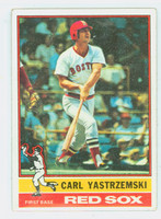 1976 Topps Baseball 230 Carl Yastrzemski Boston Red Sox Very Good