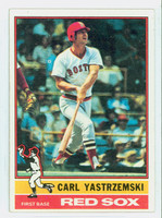 1976 Topps Baseball 230 Carl Yastrzemski Boston Red Sox Excellent