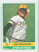 1976 Topps Baseball 243 Jim Rooker Pittsburgh Pirates Excellent to Mint