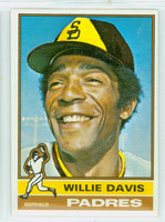 1976 Topps Baseball 265 Willie Davis San Diego Padres Excellent to Mint
