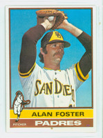 1976 Topps Baseball 266 Alan Foster San Diego Padres Excellent to Mint
