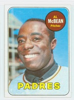 1969 Topps Baseball 14 Al McBean San Diego Padres Excellent to Mint