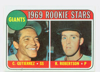 1969 Topps Baseball 16 Giants Rookies Excellent to Mint