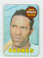 1969 Topps Baseball 38 Zoilo Versalles San Diego Padres Excellent to Mint