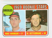 1969 Topps Baseball 66 Orioles Rookies Excellent to Excellent Plus