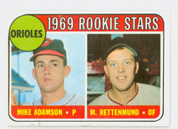 1969 Topps Baseball 66 Orioles Rookies Excellent to Mint