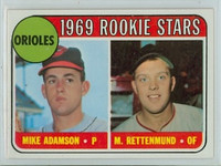 1969 Topps Baseball 66 Orioles Rookies Near-Mint to Mint