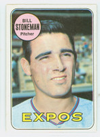 1969 Topps Baseball 67 Bill Stoneman Montreal Expos Excellent to Mint