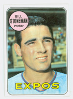 1969 Topps Baseball 67 Bill Stoneman Montreal Expos Near-Mint