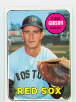 1969 Topps Baseball 89 Russ Gibson Boston Red Sox Excellent to Mint