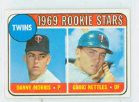 1969 Topps Baseball 99 Twins Rookies LOOP VAR LOOP  Good to Very Good