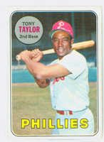 1969 Topps Baseball 108 Tony Taylor Philadelphia Phillies Very Good