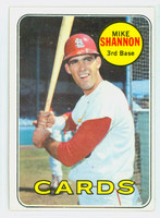 1969 Topps Baseball 110 Mike Shannon St. Louis Cardinals Excellent