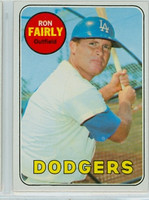 1969 Topps Baseball 122 Ron Fairly Los Angeles Dodgers Near-Mint
