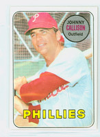 1969 Topps Baseball 133 Johnny Callison Philadelphia Phillies Near-Mint