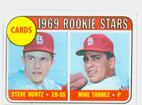 1969 Topps Baseball 136 Cardinals Rookies Excellent to Excellent Plus