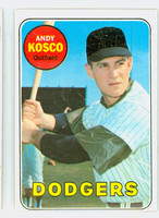 1969 Topps Baseball 139 Andy Kosco Los Angeles Dodgers Excellent to Excellent Plus