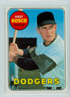 1969 Topps Baseball 139 Andy Kosco Los Angeles Dodgers Near-Mint Plus