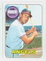 1969 Topps Baseball 157 Bob Rodgers California Angels Excellent to Mint