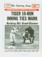 1969 Topps Baseball 167 World Series GM 6 Detroit Tigers Excellent to Mint